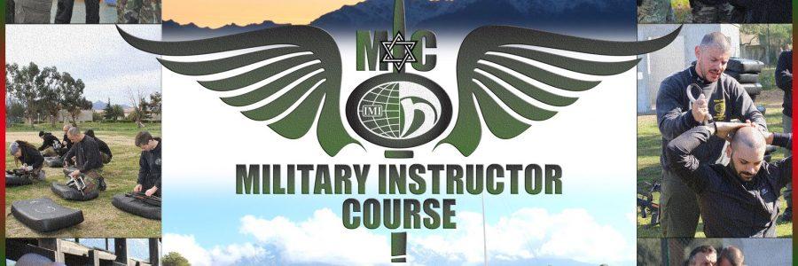 affiche - Stage Instructeur Militaire - Calvi 2017